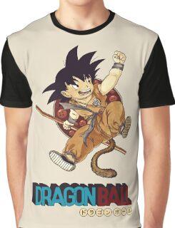 Son Goku & Nyoi Bo Graphic T-Shirt