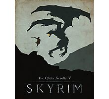 Skyrim Poster Photographic Print