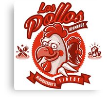 Los pollos hermanos Bad Canvas Print