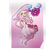 Lillie and Cosmog Poster
