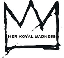Her Royal Badness (2) Photographic Print