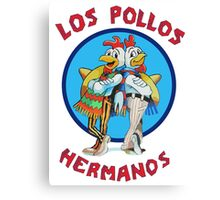 Los pollos hermanos tv Canvas Print