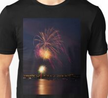New Years Eve Fireworks Unisex T-Shirt