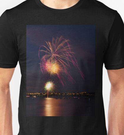 New Years Eve Fireworks Unisex T-Shirt