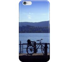 Bicycle at Zürichsee iPhone Case/Skin