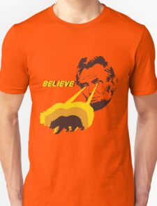 Believe Abraham Lincoln Unisex T-Shirt