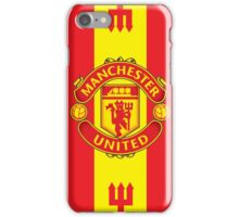 Manchester United Flat Design iPhone Case/Skin