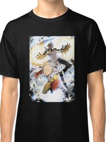 One Punch Man Saitama And Genos Classic T-Shirt