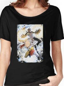 One Punch Man Saitama And Genos Women's Relaxed Fit T-Shirt