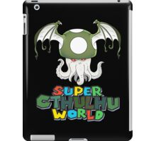 Super Cthulhu World iPad Case/Skin