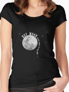 Band Merch - Hey Moon Panic Inspired  Women's Fitted Scoop T-Shirt