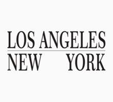LA-NY by RAINBOWARTS