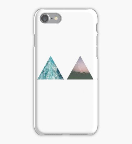 hipster tumblr photography trianges iPhone Case/Skin