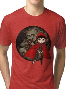 Little Red Capuccine Tri-blend T-Shirt