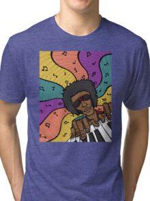 Piano Man Making Music Tri-blend T-Shirt