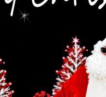 Santa Humor Sticker