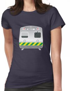 Melbourne Vintage Hitachi Train Womens Fitted T-Shirt