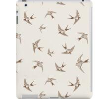 Vintage Swallows iPad Case/Skin
