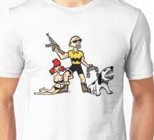 Bad Ass Charlie Brown Unisex T-Shirt
