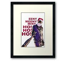 Negan Santa Claus  Framed Print