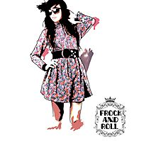 Frock and Roll Photographic Print