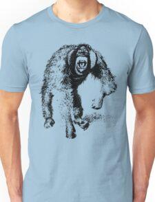 vector monkey Unisex T-Shirt