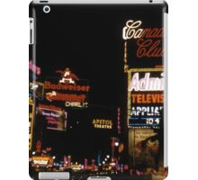 Times Square Broadway 1959 iPad Case/Skin