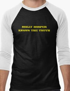 Molly Hooper knows the truth Men's Baseball ¾ T-Shirt