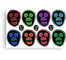 The Mighty Boosh Mask Canvas Print