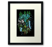Father Earth Framed Print