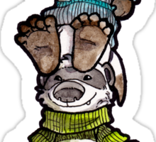 Yarn Ferrets Sticker Sticker