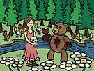 Teddy Bear And Bunny - Please Take It by Brett Gilbert