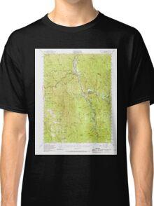 USGS TOPO Map California CA Willow Creek 301999 1952 62500 geo Classic T-Shirt