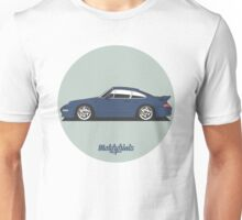 Porsche 911 Turbo S 3.6 Coupe (blue) Unisex T-Shirt