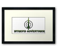 Intrepid Adventurer Framed Print