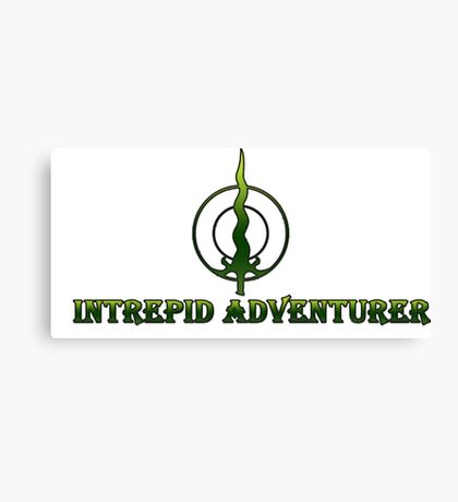 Intrepid Adventurer Canvas Print