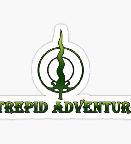 Intrepid Adventurer Sticker