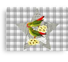 International Love Birds Canvas Print