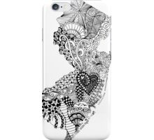 New Jersey Doodle iPhone Case/Skin
