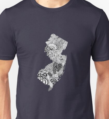 New Jersey Doodle Unisex T-Shirt