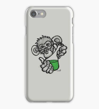 Lab Monkey iPhone Case/Skin