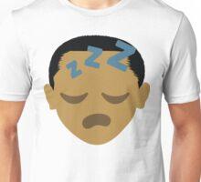 """Barack """"The Emoji"""" Obama Sleepy ZZZ Face Unisex T-Shirt"""