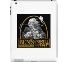 Bens Bar and Grill LOGO iPad Case/Skin