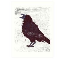 The Dark Bird Art Print