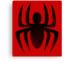 Spiderman Insignia Canvas Print