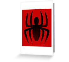 Spiderman Insignia Greeting Card
