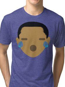 "Barack ""The Emoji"" Obama Teary Eyes and Sad Face Tri-blend T-Shirt"