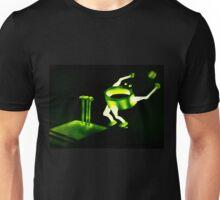 Green & gold cricket nut! Unisex T-Shirt