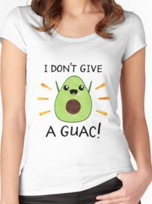 I don't give a guac! Women's Fitted Scoop T-Shirt