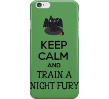 Keep Calm and Train a Night Fury iPhone Case/Skin